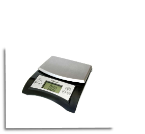 Avia Digital Scale, 11 Lb / 5 Kg, Black