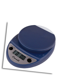 Primo Digital Scale, 11 Lb / 5 Kg, Royal Blue