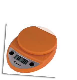 Primo Digital Scale, 11 Lb / 5 Kg, Pumpkin Orange