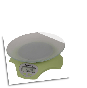 Avia Digital Scale, 11 Lb / 5 Kg, Lily Green