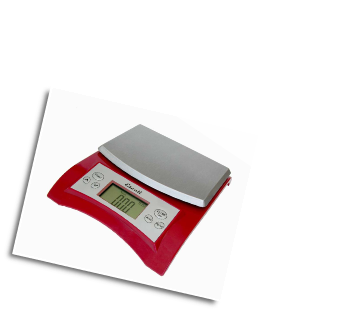 Avia Digital Scale, 11 Lb / 5 Kg, Warm Red