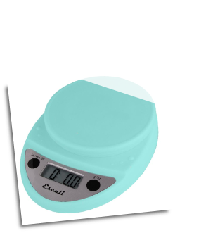 Primo Digital Scale, 11 Lb / 5 Kg, Aruba Blue