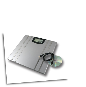 American Weigh BioWeigh-USB BMI Fitness Scale 330 x 0.2lb