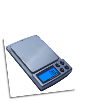 American Weigh SM-DR Dual Range Pocket Scale 100x0.01g/500x0.1g