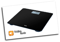 American Weigh 330CVS Talking Bathroom Scale 330 x 0.2lb
