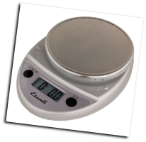 Primo Digital Scale, 11 Lb / 5 Kg, Chrome (SKU: P115C Primo)