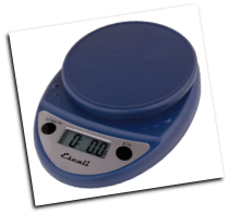 Primo Digital Scale, 11 Lb / 5 Kg, Royal Blue (SKU: P115NB Primo)
