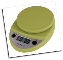 Primo Digital Scale, 11 Lb / 5 Kg, Terragon Green (SKU: P115TG Primo)