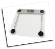 American Weigh 330LPG Low Profile Bathroom Scale 330x0.2lb