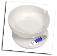 American Weigh AMW-810-5K Kitchen Bowl Scale 11lb x 0.1oz