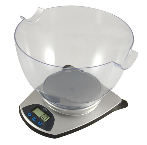 American Weigh HB 6 Kitchen Bowl Scale 5.5lb X 0.1oz